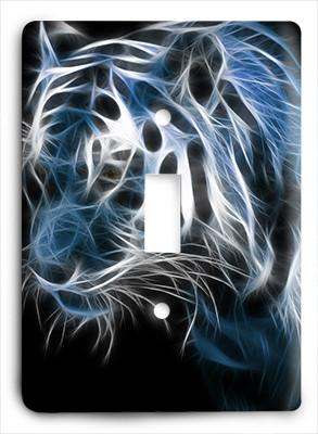 Blue Tiger Light Switch - Colorful Switches