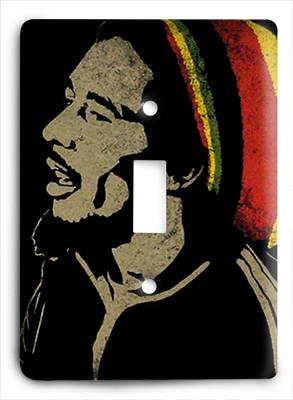 Bob Marley Life Light Switch - Colorful Switches