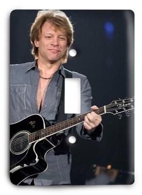 Bon Jovi - 5 Light Switch Cover - Colorful Switches