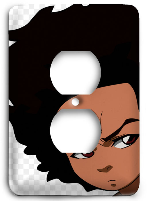 Boondocks Huey Freeman v18 Outlet Cover - Colorful Switches