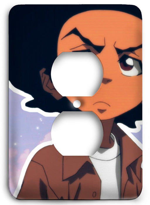 Boondocks Huey Freeman v22 Outlet Cover - Colorful Switches