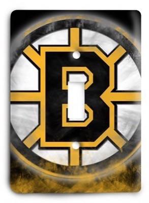 Boston Bruins NHL 04 Light Switch Cover - Colorful Switches