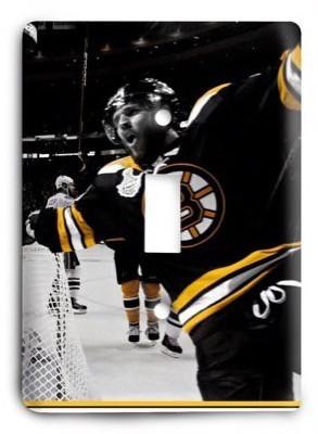 Boston Bruins NHL 09 Light Switch Cover - Colorful Switches
