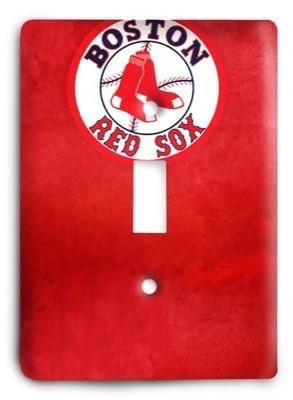 Boston Red Sox 04 Light Switch Cover - Colorful Switches