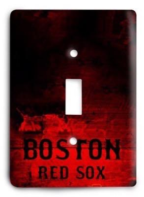 Boston Red Sox 07 Light Switch Cover - Colorful Switches