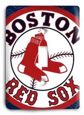 Boston Red Sox 09 Light Switch Cover - Colorful Switches