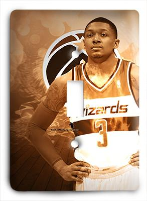 Bradley Beal Washington Wizards Light Switch - Colorful Switches