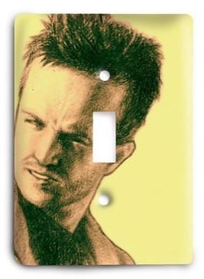 Breaking Bad G3 6 Light Switch Cover - Colorful Switches