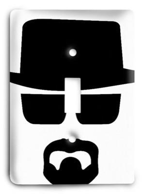 Breaking Bad G3 7 Light Switch Cover - Colorful Switches