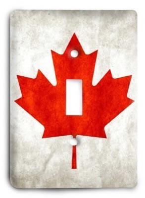 Canada Light Switch Cover - Colorful Switches