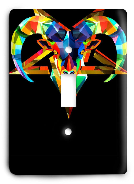 Capricorn  v01 Light Switch Cover - Colorful Switches