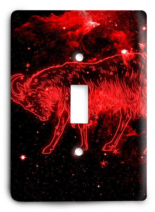 Capricorn  v02 Light Switch Cover - Colorful Switches