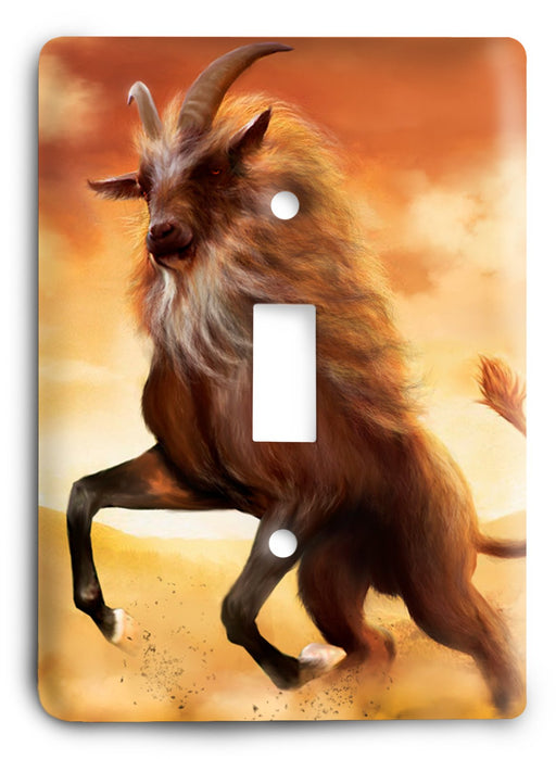 Capricorn  v03 Light Switch Cover - Colorful Switches