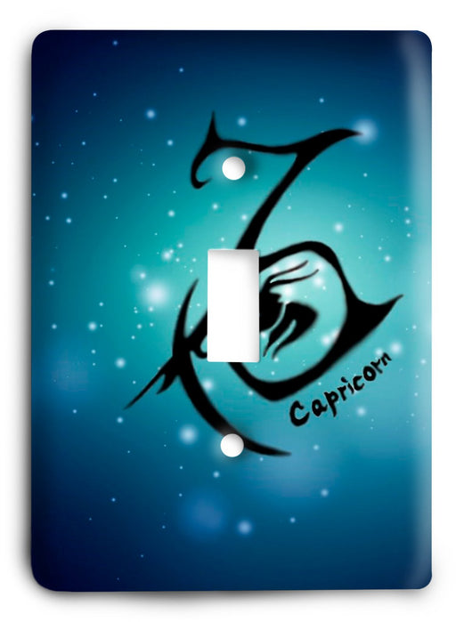 Capricorn  v05 Light Switch Cover - Colorful Switches