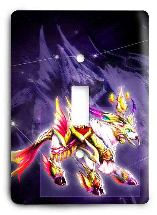 Capricorn  v08 Light Switch Cover - Colorful Switches