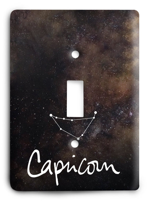 Capricorn  v12 Light Switch Cover - Colorful Switches
