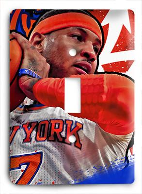 Carmelo Anthony 7 New York Knicks Light Switch - Colorful Switches