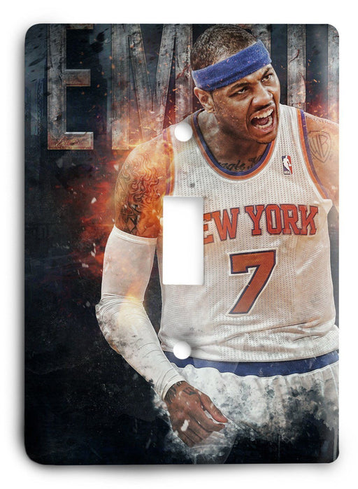 Carmelo Anthony Empire State Light Switch Cover - Colorful Switches