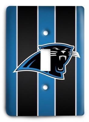 Carolina Panthers NFL 08 Light Switch Cover - Colorful Switches