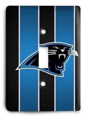 Carolina Panthers NFL 16 Light Switch Cover - Colorful Switches