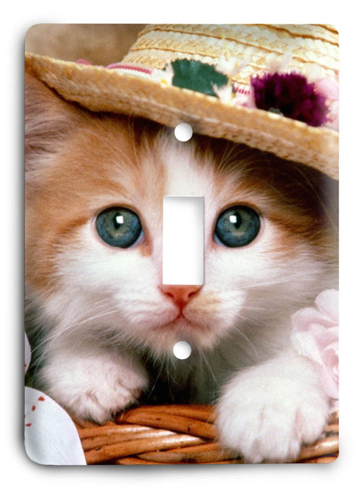 Cat Love G5v68 Light Switch Cover - Colorful Switches