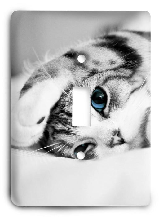 Cat Love G5v71 Light Switch Cover - Colorful Switches