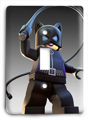 Catwoman Lego Light Switch - Colorful Switches