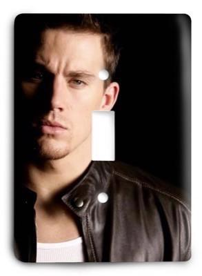 Channing Tatum_v1 Light Switch Cover - Colorful Switches