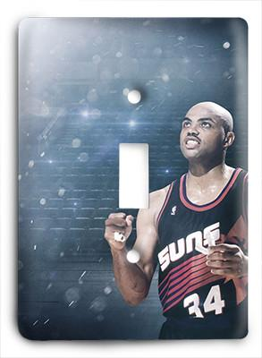 Charles Barkley Phoenix Suns Light Switch - Colorful Switches