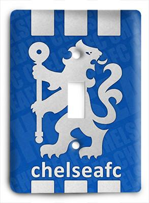 Chelsea FC Premier League Light Switch - Colorful Switches