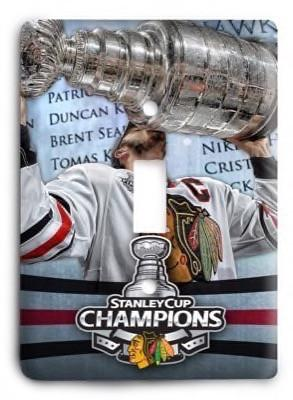 Chicago Blackhawks NHL 09v Light Switch Cover - Colorful Switches
