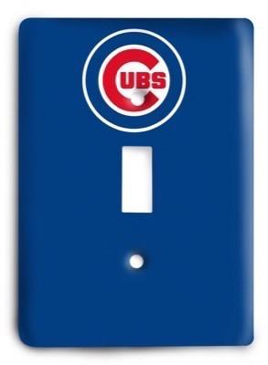 Chicago Cubs 12 Light Switch Cover - Colorful Switches