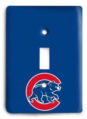 Chicago Cubs 14 Light Switch Cover - Colorful Switches