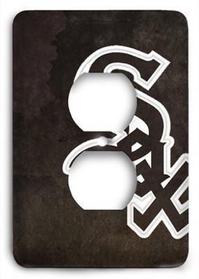 Chicago White Sox 03 Outlet Cover - Colorful Switches