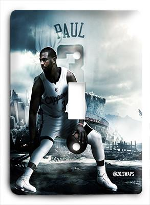 Chris Paul Clippers Rise Light Switch - Colorful Switches