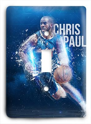 Chris Paul LA Clippers Rise Above Light Switch - Colorful Switches