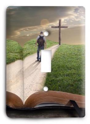 Christian The Road To The Cross g3 - 26 Light Switch Cover - Colorful Switches