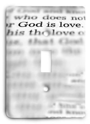 Christian g3 - 39 Light Switch Cover - Colorful Switches