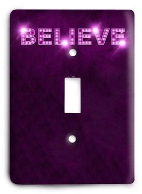 Christian v02 - 3 Light Switch Cover - Colorful Switches