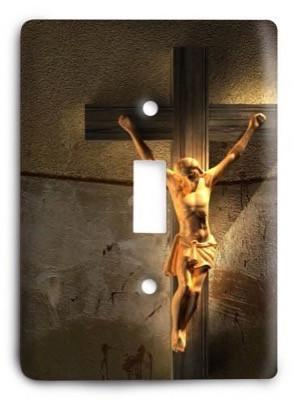 Christian v02 - 52 Light Switch Cover - Colorful Switches
