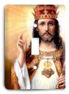 Christian v02 - 54 Light Switch Cover - Colorful Switches