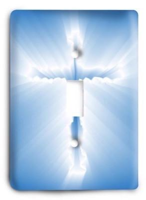 Christian v02 - 9 Light Switch Cover - Colorful Switches