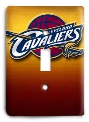 Cleveland Cavaliers  NBA 02v Light Switch Cover - Colorful Switches