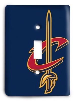 Cleveland Cavaliers  NBA 05 Light Switch Cover - Colorful Switches