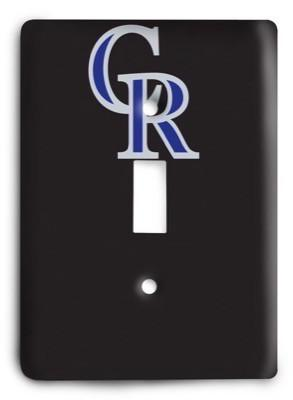 Colorado Rockies 06 Light Switch Cover - Colorful Switches