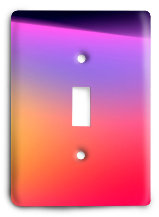 Colorful Textures Design  v03 Light Switch Cover - Colorful Switches