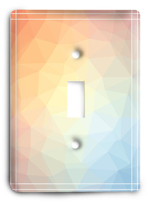 Colorful Textures Design  v104 Light Switch Cover - Colorful Switches