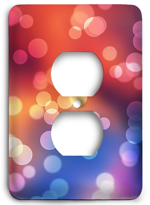 Colorful Textures Design  v118 Outlet Cover - Colorful Switches
