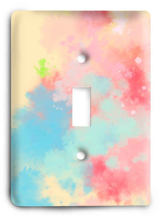 Colorful Textures Design  v118 Light Switch Cover - Colorful Switches