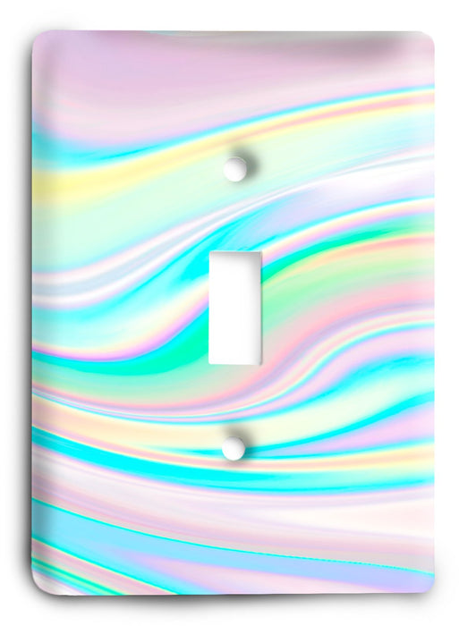Colorful Textures Design  v120 Light Switch Cover - Colorful Switches